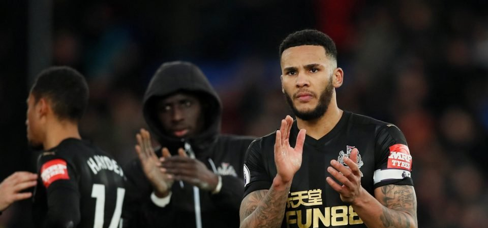 Newcastle fans react to Jamaal Lascelles' comments ahead of Man United clash
