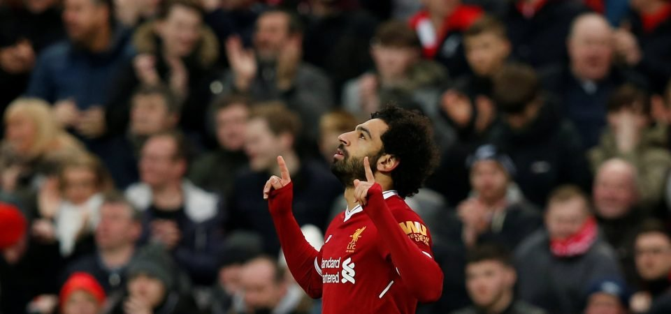 Liverpool fans puzzled by Salah's absence in celebratory photo