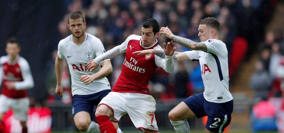 Revealed: Arsenal fans vote Mkhitaryan worst performer in 1-0 defeat to Spurs