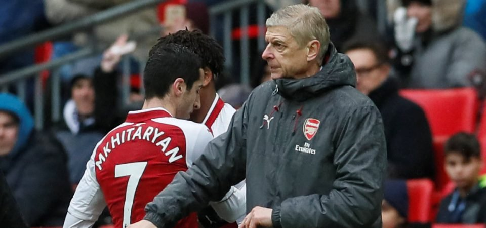 Revealed: 40% of Arsenal fans think it was a mistake to sign Mkhitaryan