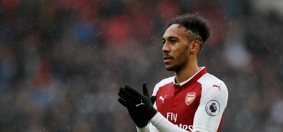 Arsenal fans are upset with the lack of service for Aubameyang after defeat