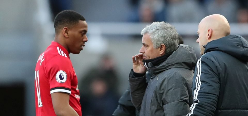 Manchester United fans hated Anthony Martial's performance vs Newcastle