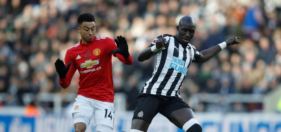 Newcastle fans pleased with Diame form