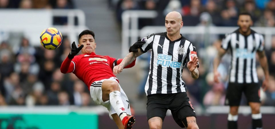 Newcastle fans couldn't believe how good Jonjo Shelvey was against Man United
