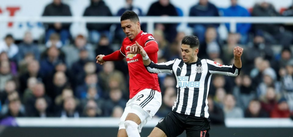 Manchester United fans have lost patience with defender Chris Smalling