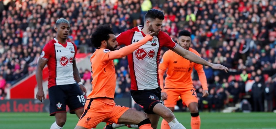 Southampton fans want Pellegrino to drop Wesley Hoedt after Liverpool display