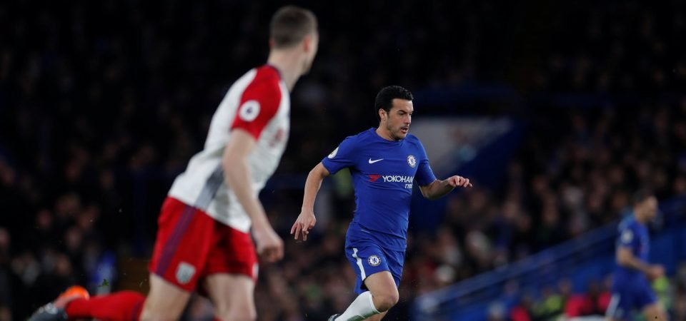 Chelsea fans impressed with Pedro's performance