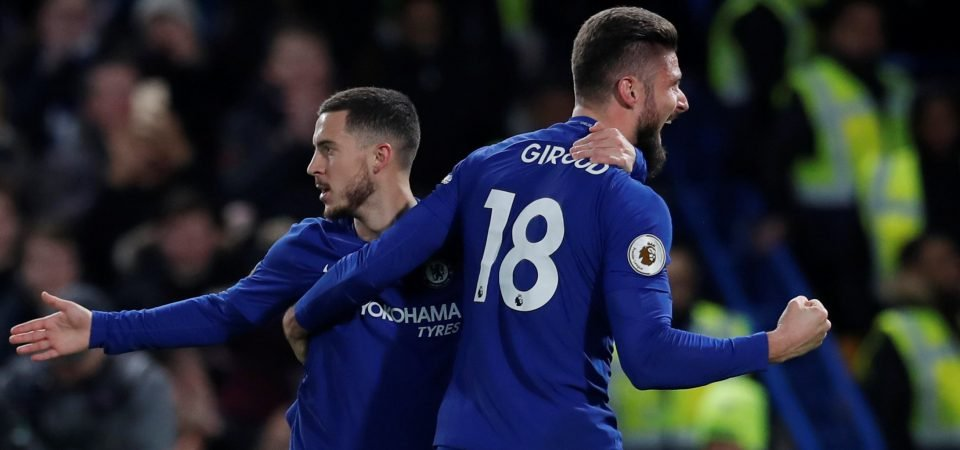 Chelsea fans believe Olivier Giroud is fitting in perfectly at Stamford Bridge