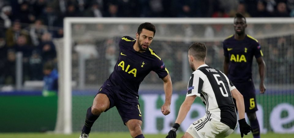 Tottenham Hotspur fans wax lyrical about Dembele's performance against Juventus