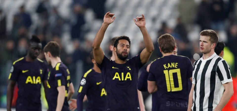 Tottenham fans full of praise for Mousa Dembele after display in Juventus draw