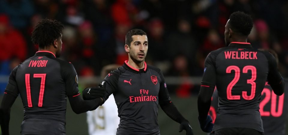 Arsenal fans think Mkhitaryan is better for them than Sanchez