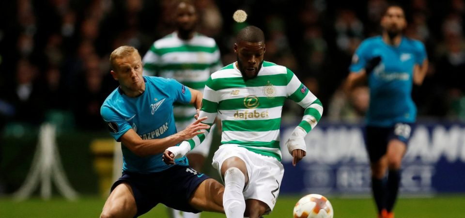 Premier League clubs will be keeping tabs on Celtic's Olivier Ntcham