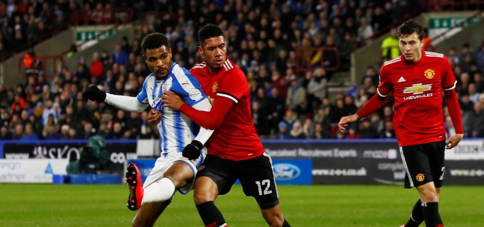 Chris Smalling imperious in defence as Man United see off Huddersfield