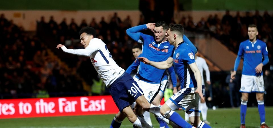 Rival fans accuse Tottenham Hotspur star Dele Alli of diving to win penalty