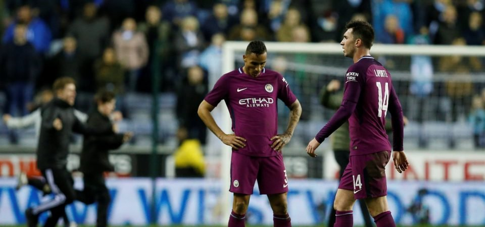 Man City fans react with disappointment to FA Cup exit