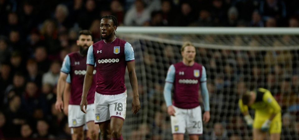 Aston Villa fans did not enjoy Josh Onomah's performance on Saturday