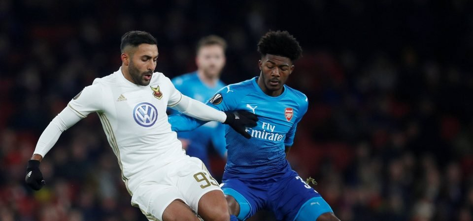 Revealed: 74% of Arsenal fans think Maitland-Niles' best position is defensive or central midfield