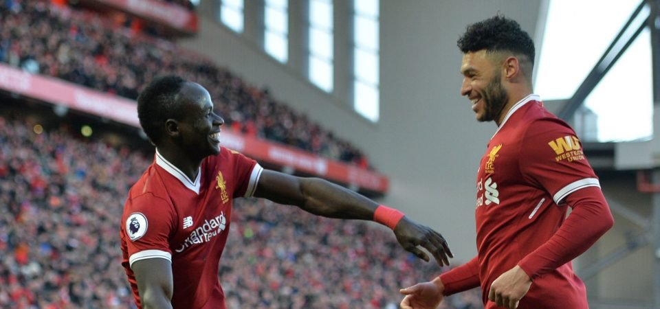 Liverpool fans loved Alex Oxlade-Chamberlain's performance vs West Ham