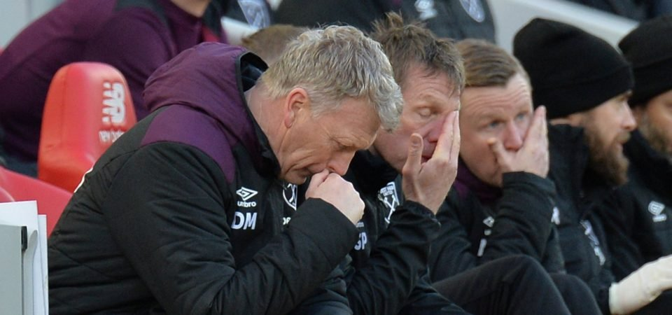 West Ham fans believe David Moyes got it all wrong in heavy Liverpool defeat
