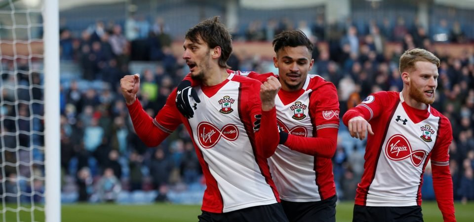 Southampton fans loved the impact of Josh Sims on Saturday