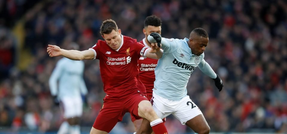 Liverpool fans loved James Milner's contribution in Saturday win