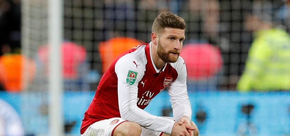 Arsenal fans question Mustafi's future following Sokratis and Chambers deals