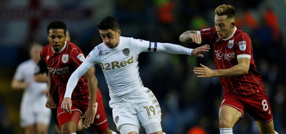Leeds fans are calling for Pablo Hernandez to be offered new deal