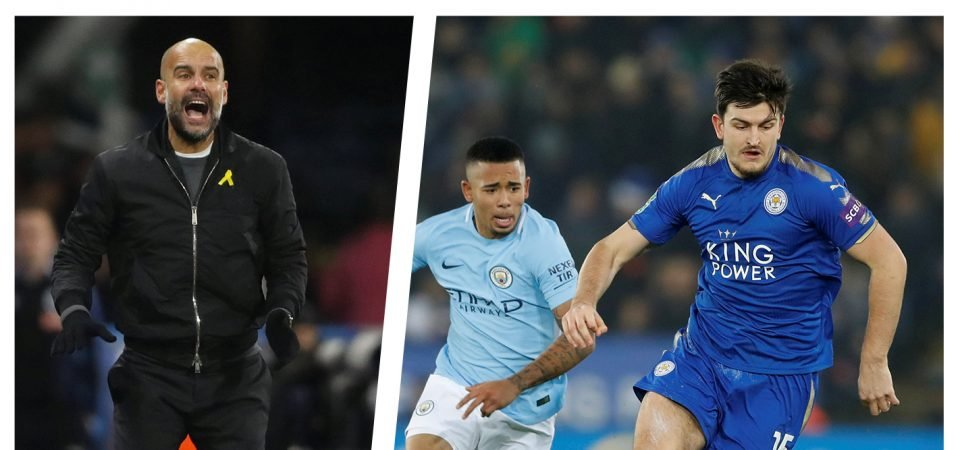 Big Talking Point: Would Harry Maguire get in to Man City's best XI?