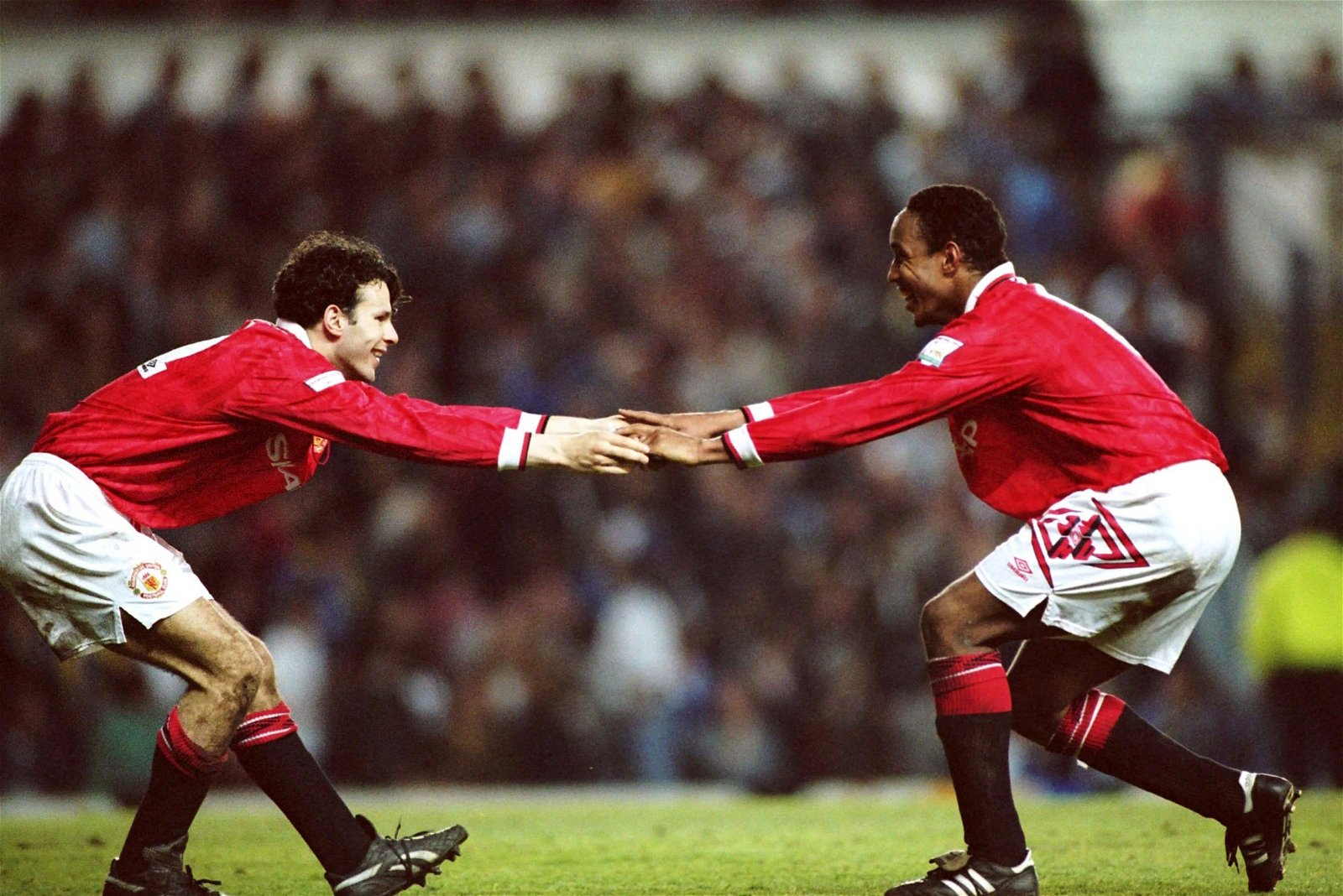 Paul Ince and Ryan Giggs, Manchester United