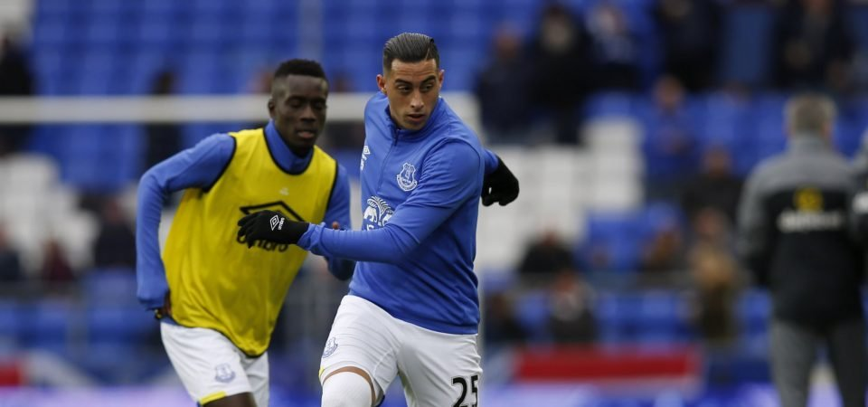 Everton fans demand Sam Allardyce starts Ramiro Funes Mori against Brighton