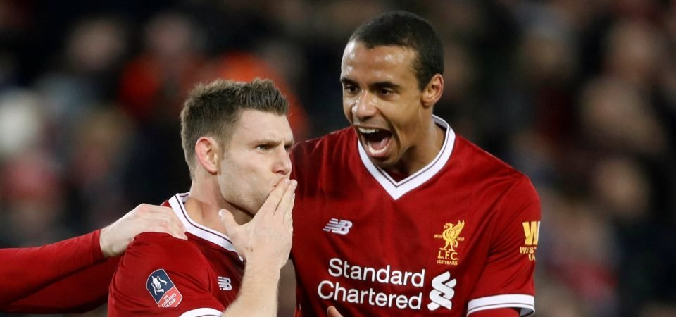 Liverpool fans think Milner is underrated