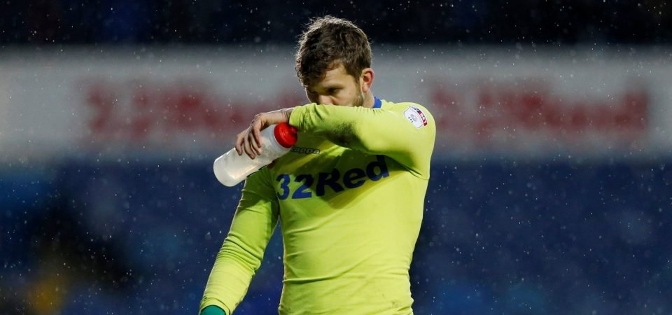 Leeds United fans don't want to see Wiedwald start for the club again