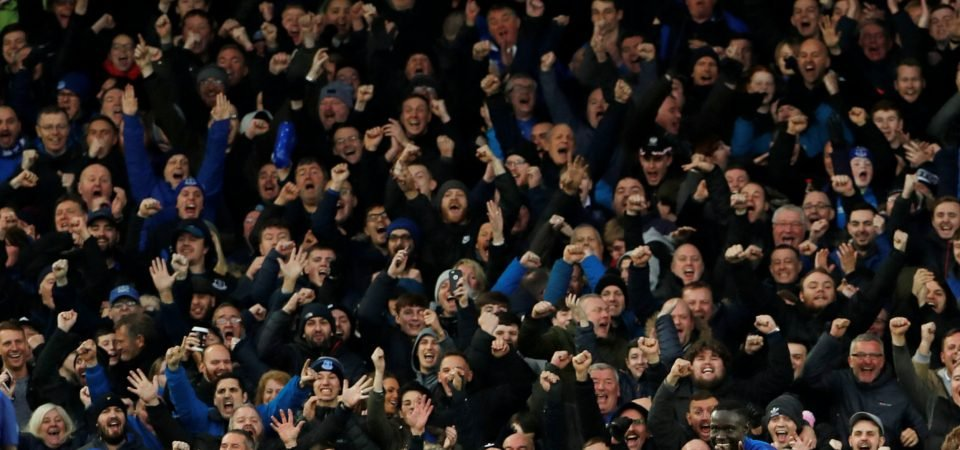 Everton fans react negatively to club tweet