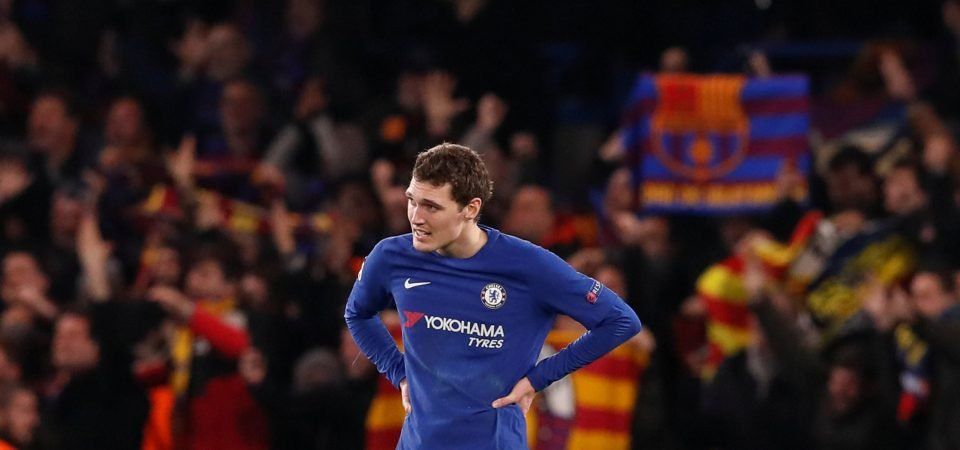 80% of Chelsea fans still want Christensen to start over Cahill despite recent errors