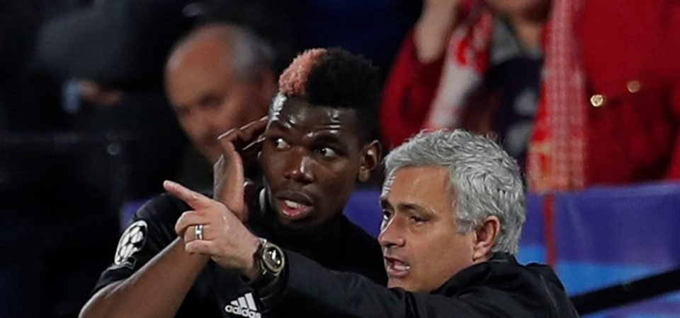 Pogba gives nothing away when asked about Mourinho relationship