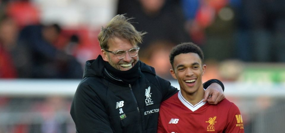 Revealed: 69% of Liverpool fans want Alexander-Arnold to keep his place vs Newcastle