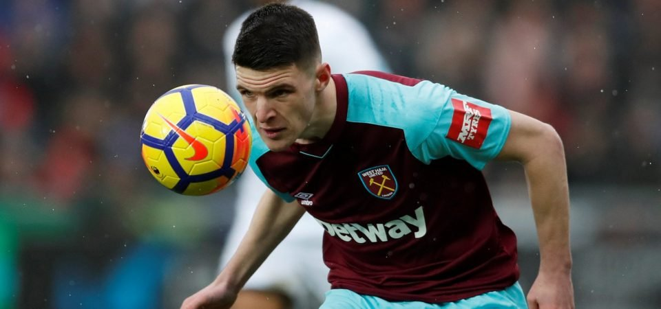 Crystal Palace and Declan Rice aren't the right fit for each other