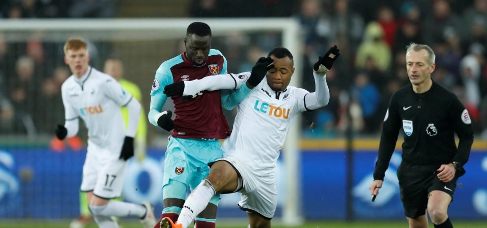 West Ham United fans lose patience with Kouyate after another heavy defeat