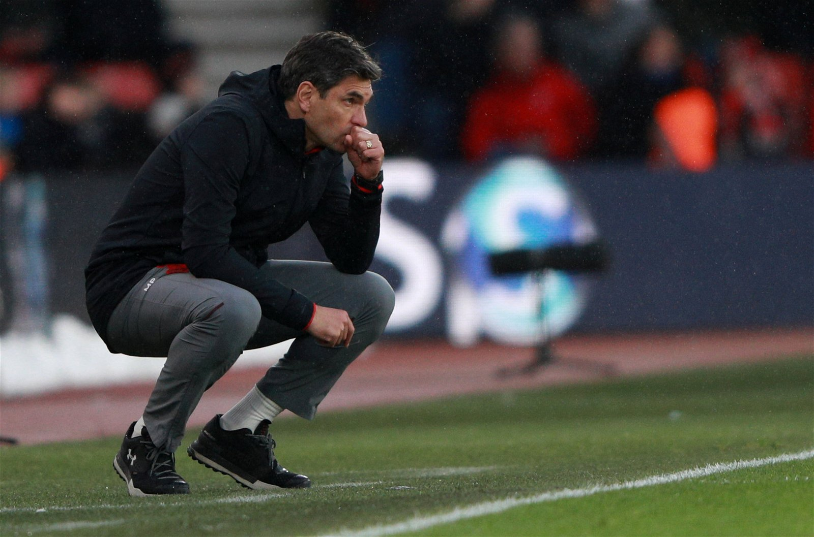 Mauricio Pellegrino watches on in Southampton draw with Stoke