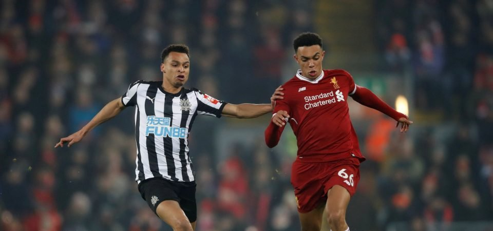 Liverpool fans are loving the progress of Trent Alexander-Arnold