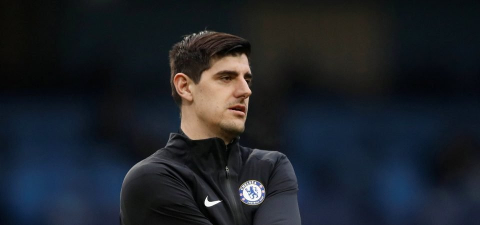 Chelsea fans lay into Courtois following win over Crystal Palace