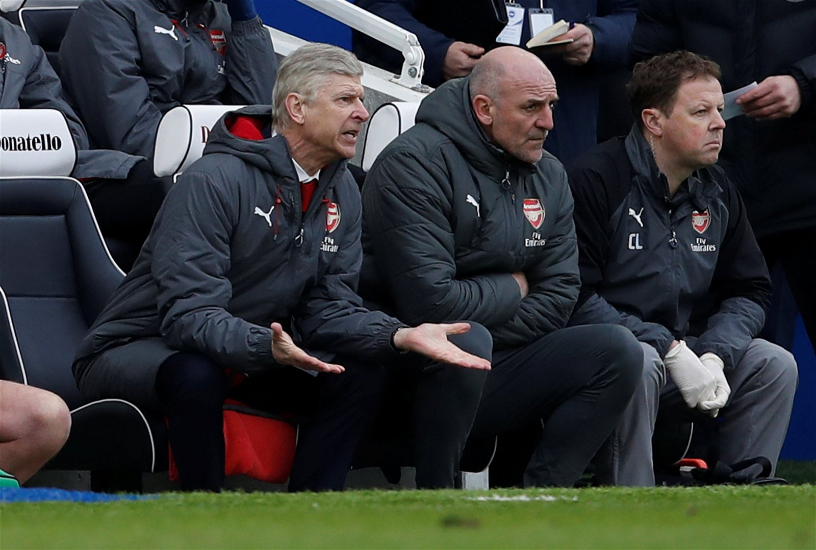 For all of Wenger's failings, Arsenal's players have been hiding behind him for far too long