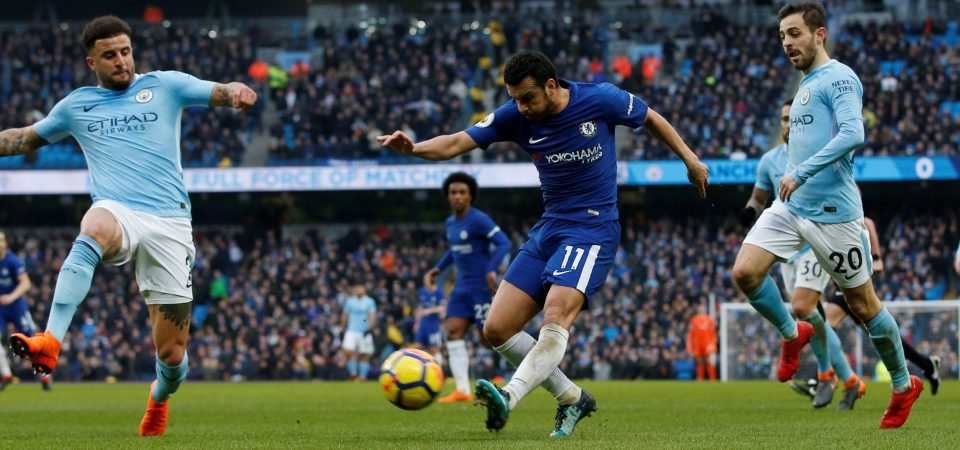 Chelsea fans slate Pedro after ineffective performance against Manchester City