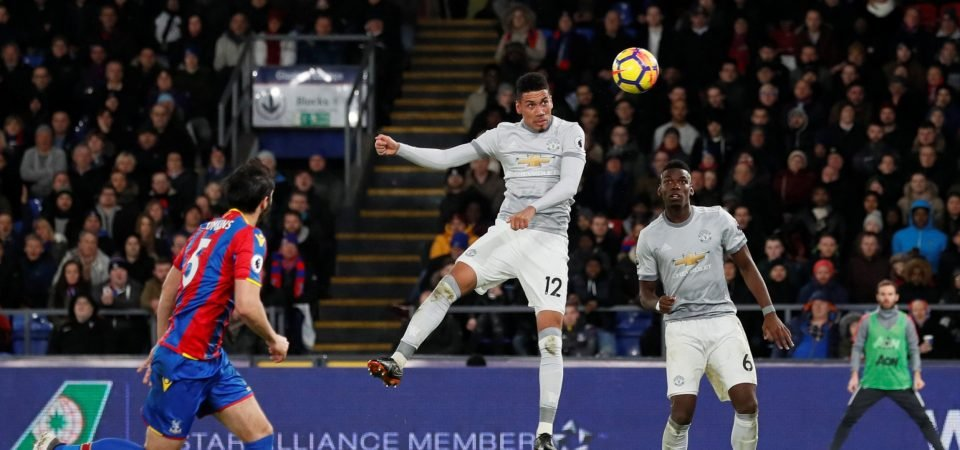 Chris Smalling immense once again - comeback goal could be a huge moment in Man United's run-in