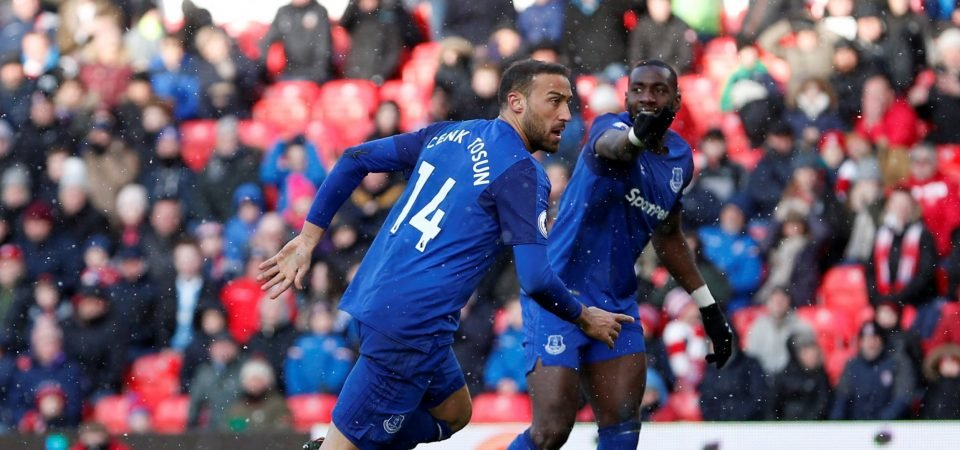 Allardyce should play Walcott alongside Tosun to improve Everton's attacking threat
