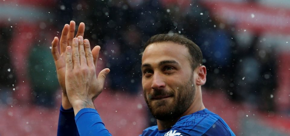Pundit suggests Tosun will be axed by Everton if he fails to reach goal target