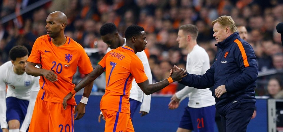 Southampton fans react to Quincy Promes' Netherlands display against England