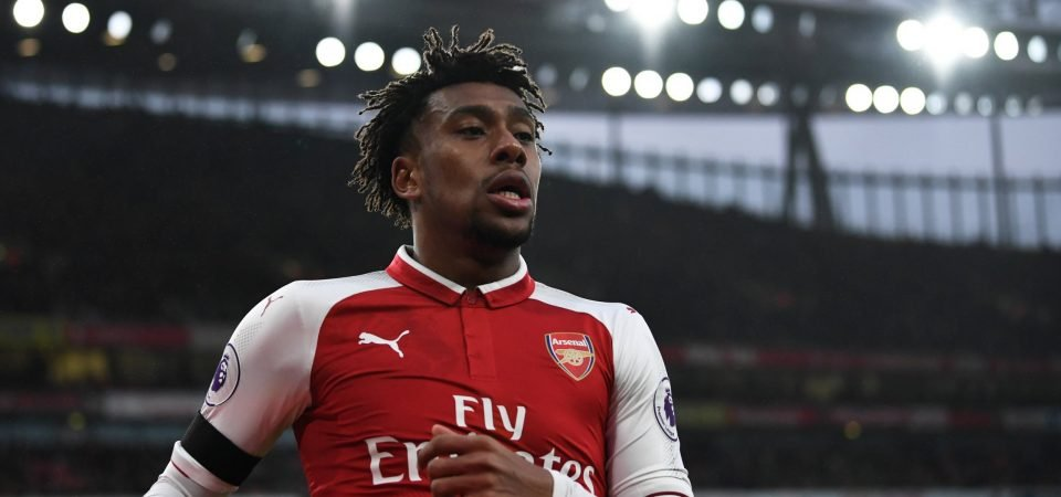 Alex Iwobi's exit spells bad news for one other Arsenal star