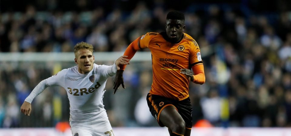 Wolves fans were absolutely delighted by N'Diaye's performance against Leeds