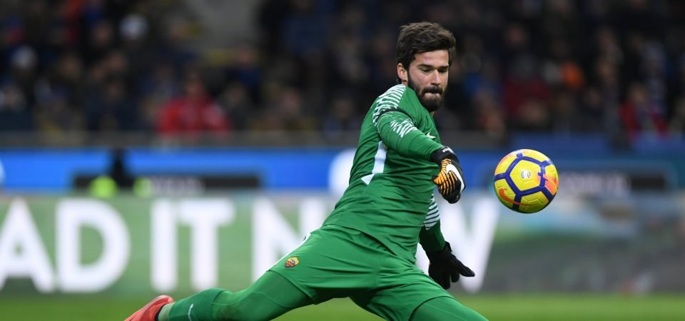 Alisson is the perfect new number one for Liverpool